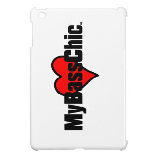 MyBassChic(tm) Crimson Heart iPad Mini Covers