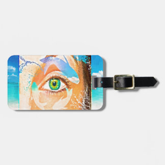 mybeachwindow luggage tag