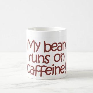 MyBeanRunsOnCaffeine,Mug Coffee Mug