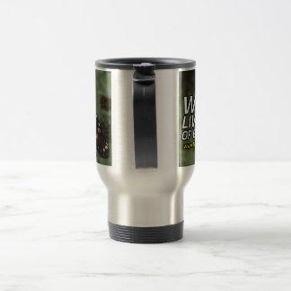 MyButteerflyLIVE Stainless Steel Travel Mug