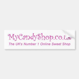 MyCandyshop.co.uk Autocollant De Voiture
