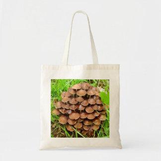 Mycena inclinata Mushroom Tote Bag