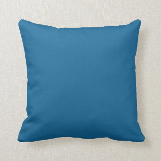 myconos blue throw pillow