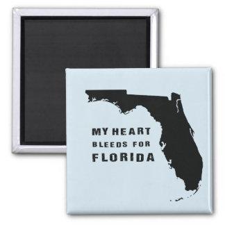 Mye hweart bleeds for Florida after hurricane Irma Magnet