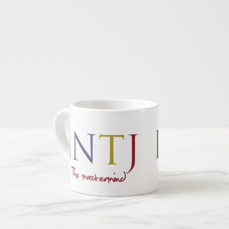 Myers-Briggs INTJ - Expresso for the Mastermind Espresso Cup