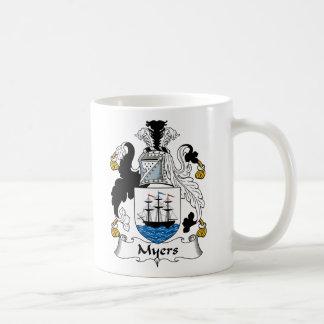 Myers Family Crest Coffee Mug
