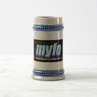 MYFO Beer Stein