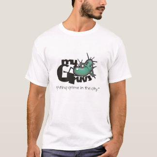 MyGruvs.  Fighting grime in the city! T-Shirt
