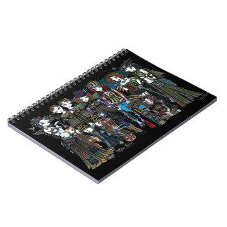 Myka Jelina Art Steampunk Tribal Fairies Notebook