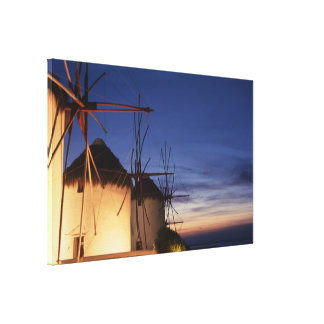Mykonos Greece Canvas