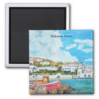 Mykonos, Greece -  Magnet