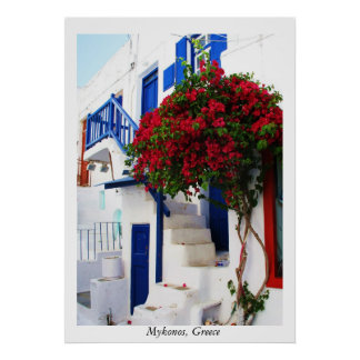 Mykonos, Greece POSTER