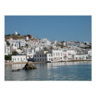 Mykonos Greece Print