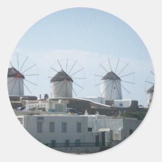 Mykonos, Greece Stickers