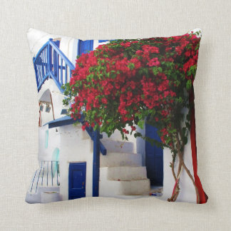 Mykonos, Greece Throw Pillow