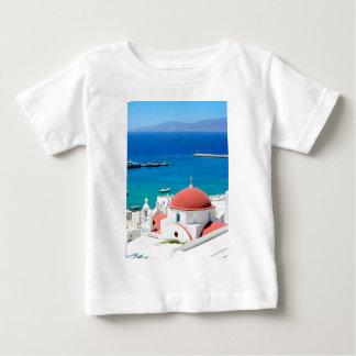 Mykonos Greek Island Hilltop Baby T-Shirt