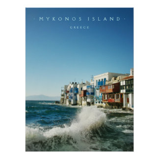 Mykonos :: Little Venice - poster