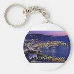 mykonos_night keychain