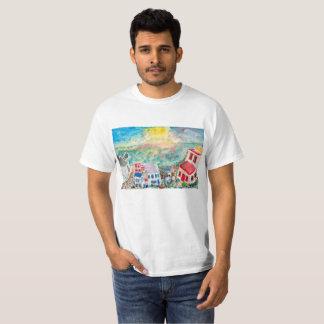 Mykonos Sunset t-shirt