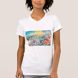 Mykonos Sunset Women's Shirt
