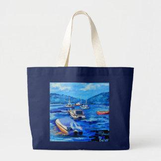 Mykonos - Tote Jumbo Tote Bag