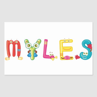 Myles Sticker