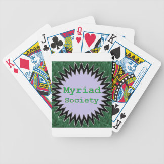 Myriad Society Bicycle Playing Cards