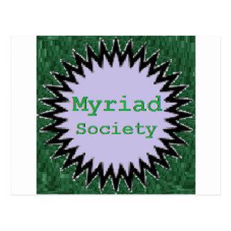 Myriad Society Postcard