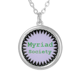 Myriad Society Silver Plated Necklace