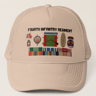 Myribbons, 2BN4th Infantry Regiment NCO , newye... Trucker Hat
