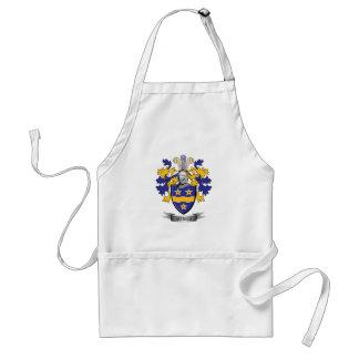 Myrick Family Crest Coat of Arms Standard Apron