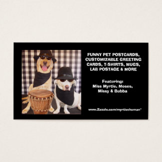Myrtie's Human's Business Card