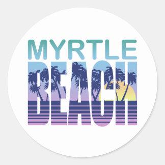 Myrtle Beach Classic Round Sticker