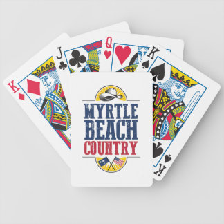 Myrtle Beach Country Bicycle Playing Cards