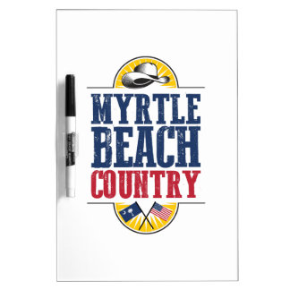 Myrtle Beach Country Dry Erase Boards