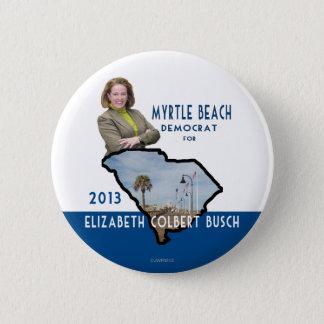 Myrtle Beach Democrat for Elizabeth Colbert Busch 2 Inch Round Button