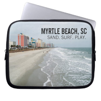 """Myrtle Beach Laptop Sleeve (up to 15"""")"""