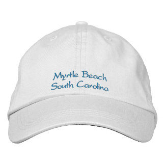 Myrtle Beach SC Embroidered Hat