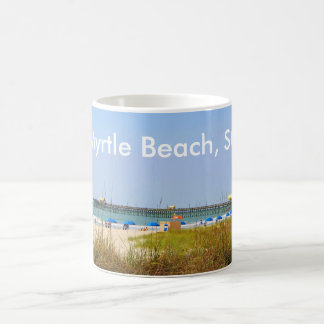 Myrtle Beach, SC Mug Beach Scene Pier