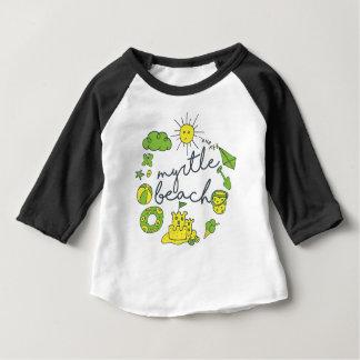 Myrtle Beach Script Baby T-Shirt