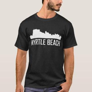 Myrtle Beach South Carolina City Skyline T-Shirt