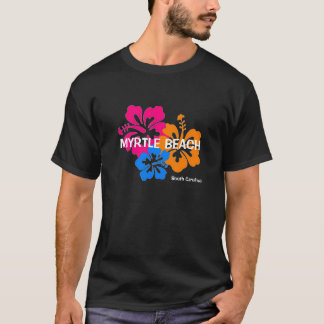 Myrtle Beach South Carolina Hibiscus T Shirt