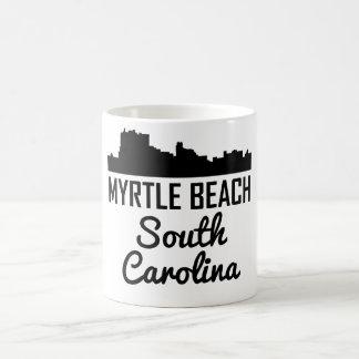 Myrtle Beach South Carolina Skyline Coffee Mug