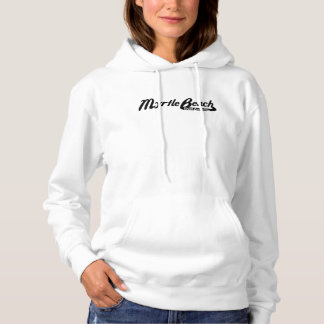Myrtle Beach South Carolina Vintage Logo Hoodie