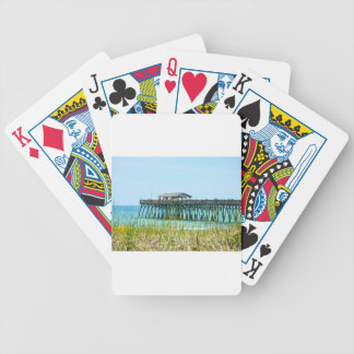 Myrtle Beach State Park Fisdhing Pier Bicycle Playing Cards