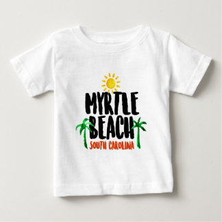 Myrtle Beach Watercolor Baby T-Shirt