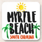 Myrtle Beach Watercolor Coaster