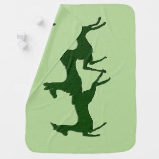 Myrtle Bucks Baby Blanket