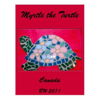 Myrtle the Turtle Canada Postcard