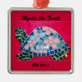 Myrtle the Turtle Ornament